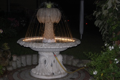 Brunnen Privathaus